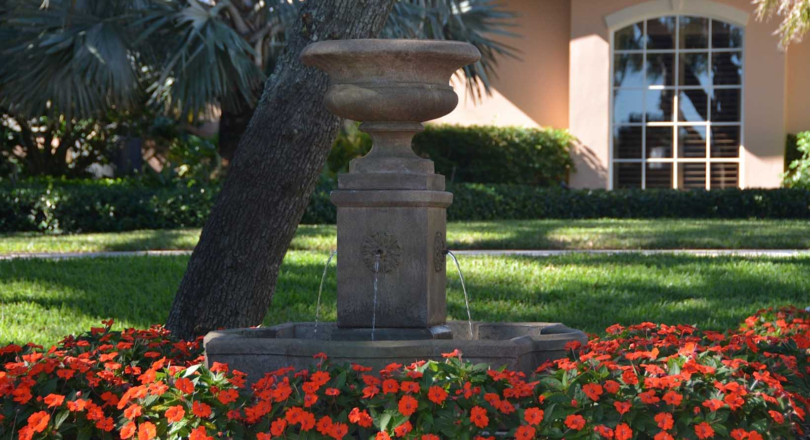 aiello landscape fountain