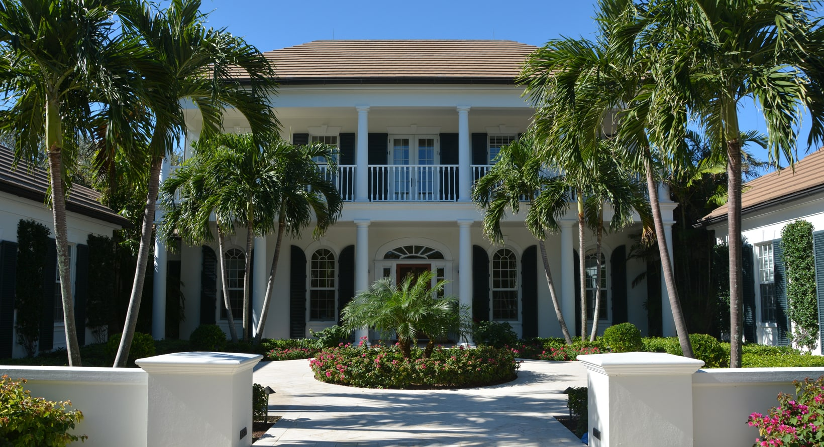 Aiello landscape vero beach home