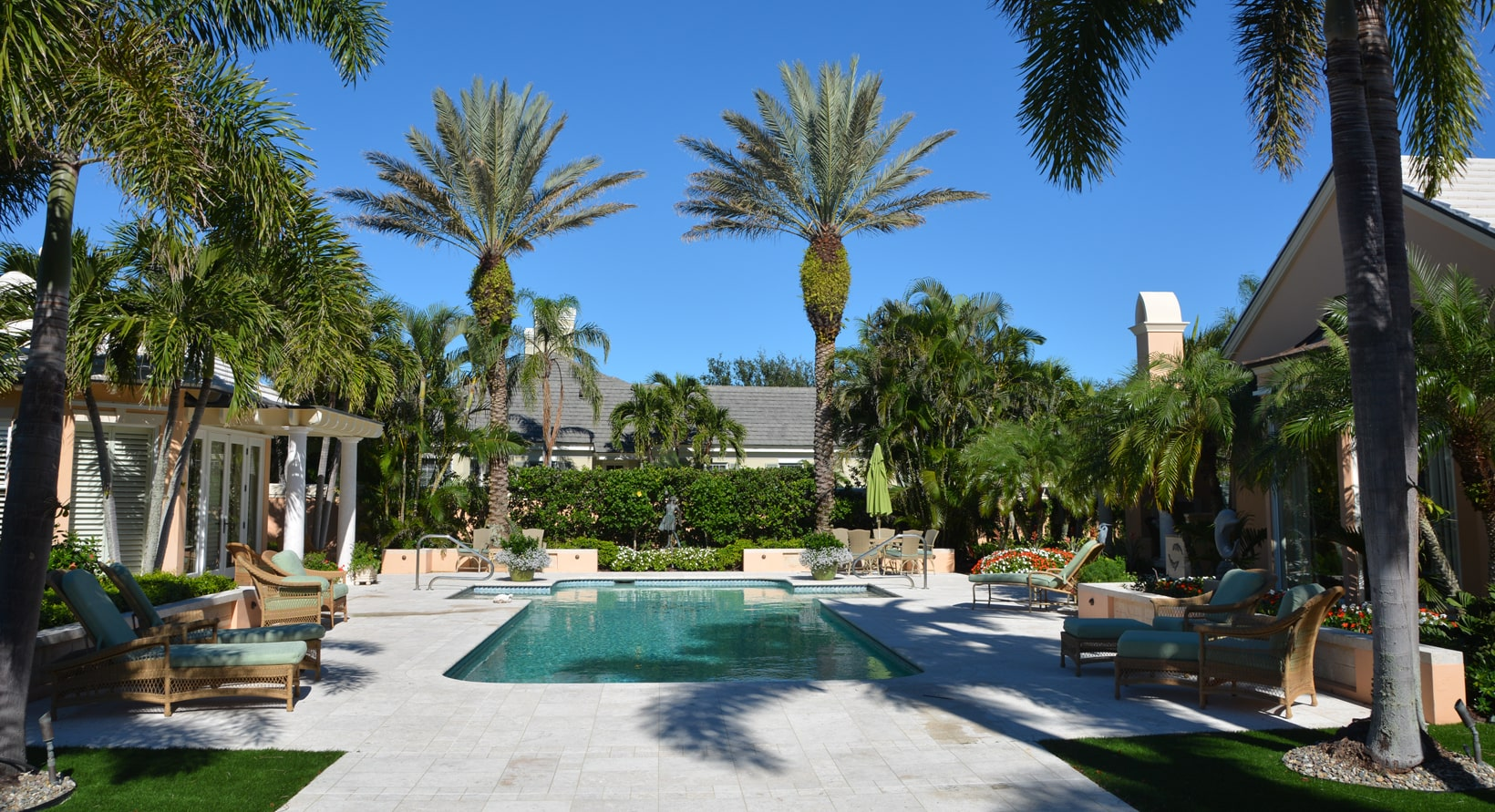 Aiello landscape vero beach pool landscaping
