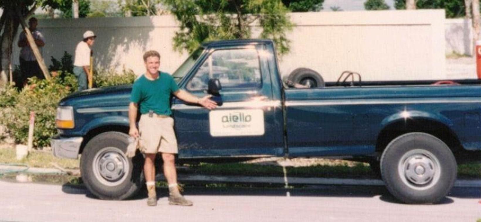 Aiello landscape truck